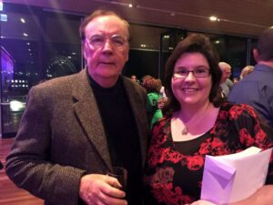 Georgie and James Patterson